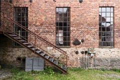Industrial site Forsvik Bruk Stock Image