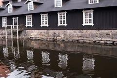 Industrial site Forsvik Bruk Stock Photos