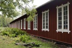 Industrial site Forsvik Bruk Royalty Free Stock Images