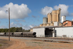 Industrial site Narrandera Royalty Free Stock Images