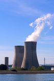 Industrial site in nuclear power Stock Images