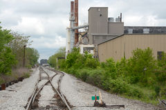 Industrial site Royalty Free Stock Photos