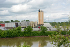 Industrial site Stock Photography