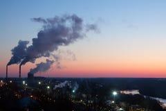 Industrial site at Vladimir royalty free stock image