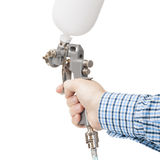 Industrial size spray gun used for industrial painting and coating - 1 to 1 ratio Stock Images