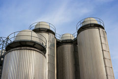 Industrial sky royalty free stock photo