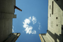 Industrial sky Stock Photography