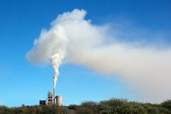 Industrial smog Royalty Free Stock Image