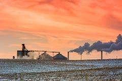 Industrial Smog Stock Photos