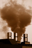 Industrial smoke Royalty Free Stock Photography