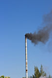 Industrial smoke from chimney Stock Image