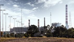 Industrial Smoke stock video