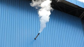 Industrial smoke emission