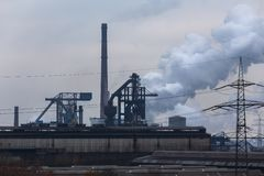 Industrial smoke and factorys