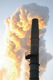 Industrial Smoke Stack Stock Photography