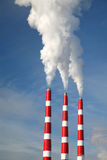 Industrial Smoke Stack Royalty Free Stock Images
