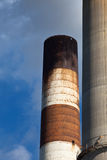 Industrial smokestack Stock Image
