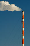 Industrial smokestack Royalty Free Stock Photo