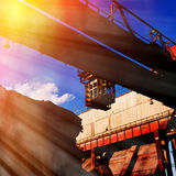 Industrial space Royalty Free Stock Photography