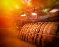 Industrial space Royalty Free Stock Image