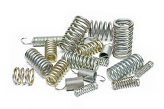 Industrial springs Royalty Free Stock Photo