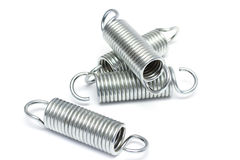 Industrial springs Stock Photography