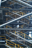 Industrial stairs Royalty Free Stock Photos