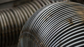 Industrial steel components abstract Royalty Free Stock Photography