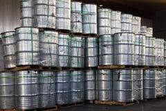 Industrial Steel Drums Stock Images