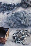 Industrial steel Stock Image