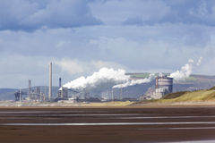 Port Talbot Steelworks Stock Images