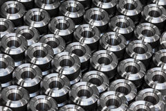 Industrial steel products Stock Images