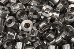 Industrial steel products Stock Image