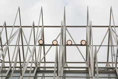 Industrial steel structure Stock Image