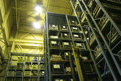Industrial Storage Bay. royalty free stock photography