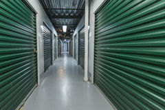 Industrial storage in the city. Royalty Free Stock Photography