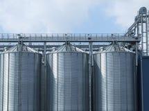 Industrial storage facility Stock Photos