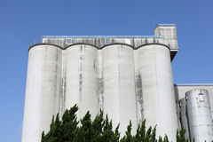 Industrial storage silo Stock Image