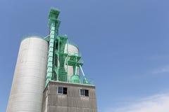 Industrial storage silo Royalty Free Stock Photo