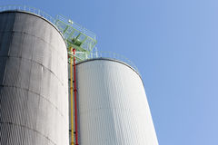 Industrial storage silo Royalty Free Stock Photography