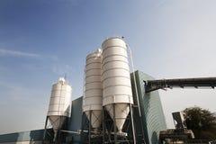 Industrial storage silos Stock Image
