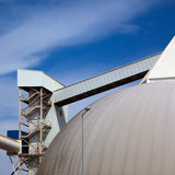 Industrial storage tank Stock Images