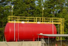 Industrial Storage Tank Royalty Free Stock Photos