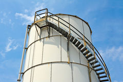 Industrial Storage Tank Stock Photography