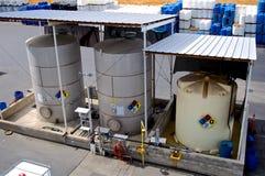 Industrial Storage Tanks Royalty Free Stock Photos