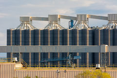 Industrial Storage Terminals Royalty Free Stock Images