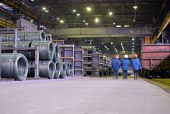 Industrial storehouse Royalty Free Stock Photos