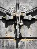 Industrial strength door latch Stock Photography