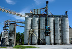 Industrial structure. Factory structure. Industry background Royalty Free Stock Photography