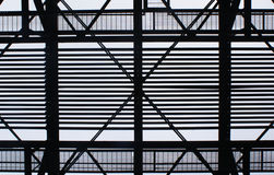 Industrial structure Stock Image